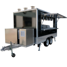 YG-FPR-04 Im Angebot Hot Dog Outdoor Food Cart / Street Food Carts / Kaffeewagen