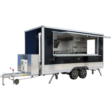 YG-FPR-04 New Street Lebensmittelautomat / Elektro-Imbisswagen / Hot Dog-Eis Hamburger Mobile Food Trailer Sale
