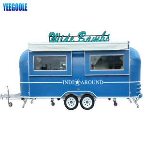 YG-TZ-66 Mobile Food Trailer Snackmaschinen Mobile Food Truck, Foodtuck Mobile Catering Trailer mit Rädern